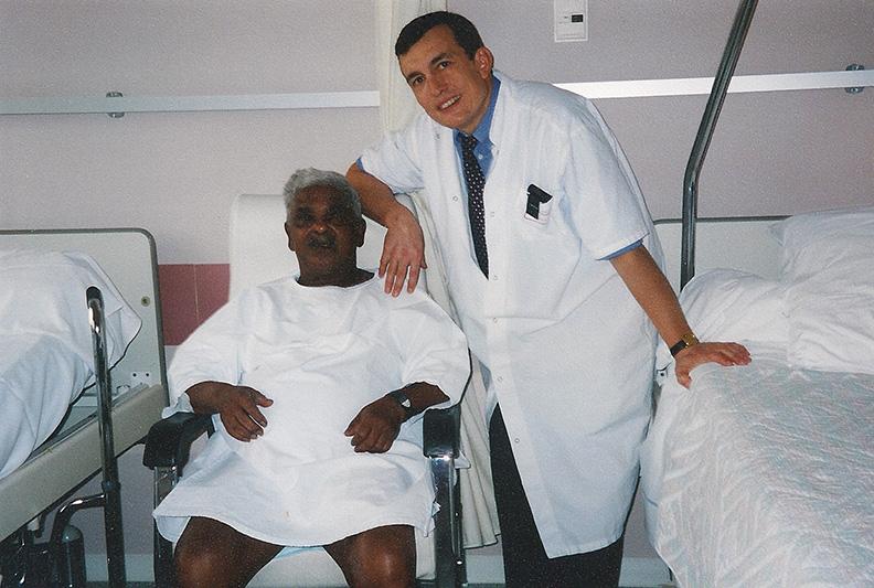 Un opéré venant de Madagascar - 1995